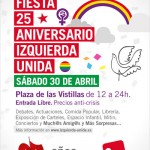 Fiesta 25 aniversario IU