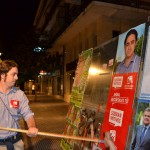 Pegada carteles elecciones 2011 Juancho Santana IU 6