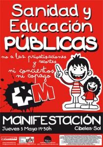 CONVOCATORIA SANIDAD Y EDUCACIÓN PÚBLICOS