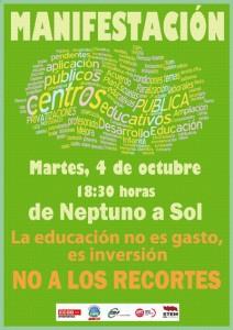 LA EDUCACIÓN NO ES GASTO, ES INVERSIÓN