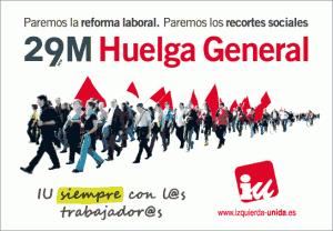 """Acto público: """"Paremos la reforma laboral, Luchemos por nuestro futuro""""  21 de Marzo 19 Horas,  Ayuntamiento de Majadahonda"""