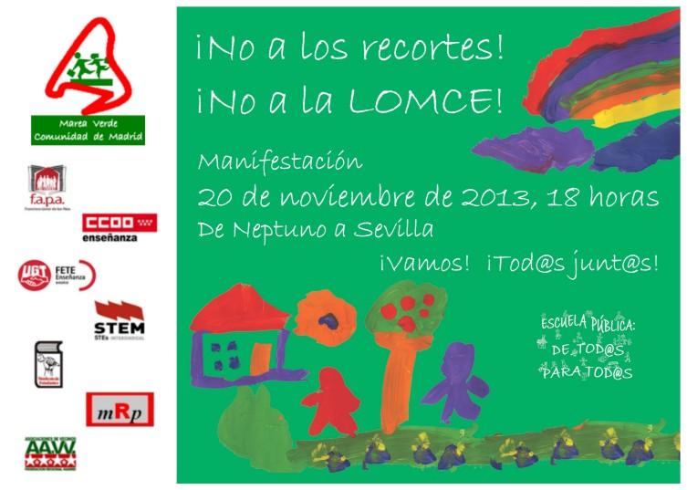 Manifestación Neptuno-Sevilla