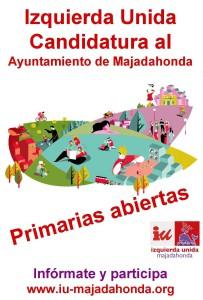 IZQUIERDA UNIDA MAJADAHONDA LANZA  SU PROCESO DE PRIMARIAS ABIERTAS Y DE ELABORACIÓN DEL PROGRAMA