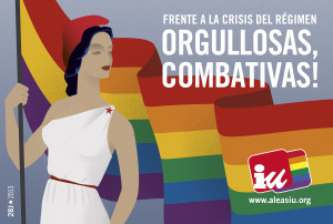 IU SOLICITA QUE LA BANDERA ARCOIRIS ONDEE EN EL AYUNTAMIENTO CON MOTIVO DEL DÍA DEL ORGULLO LGTB