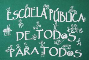 Por un modelo educativo estable que apueste por la escuela pública