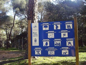 Denunciamos irregularidades en el servicio de vigilancia del Monte del Pilar