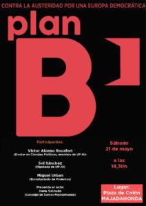 El plan B de Varoufakis llega a Majadahonda