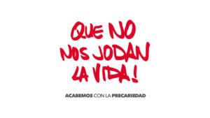 23/03  Alternativas a la precariedad: Acto con Sol Sánchez y Eduardo Garzón