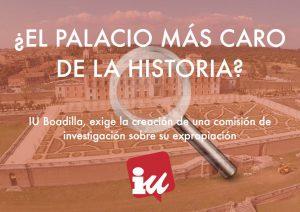 La  extraordinaria historia de la compra de un palacio en ruinas. ¿Despilfarro o corrupción?