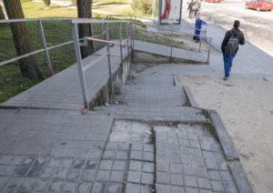 Reclamamos una estación y unos accesos a la misma accesibles y seguros