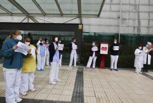 Nos oponemos al traslado forzoso de personal sanitario al hospital 'Isabel Zendal'